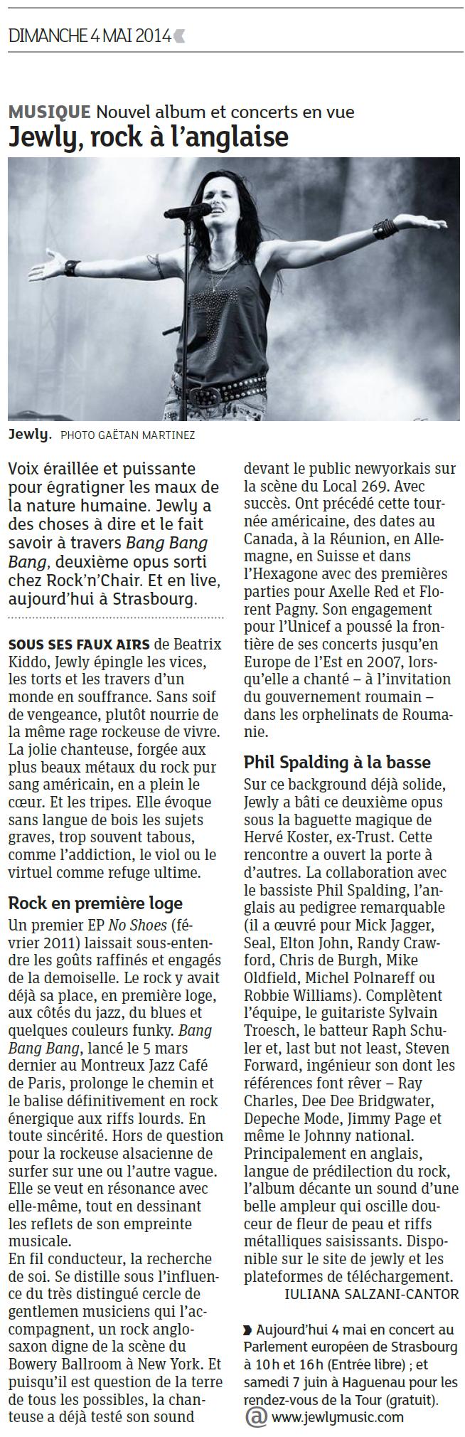 DNA – 04/05/2014