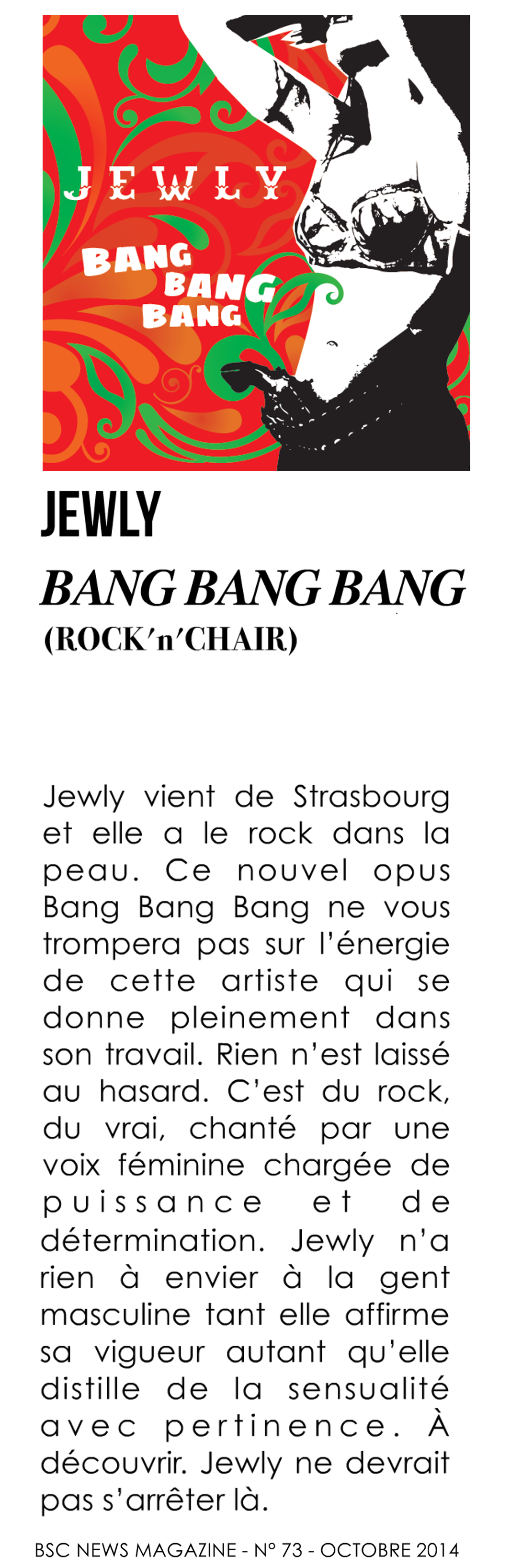BSC News – 10/2014