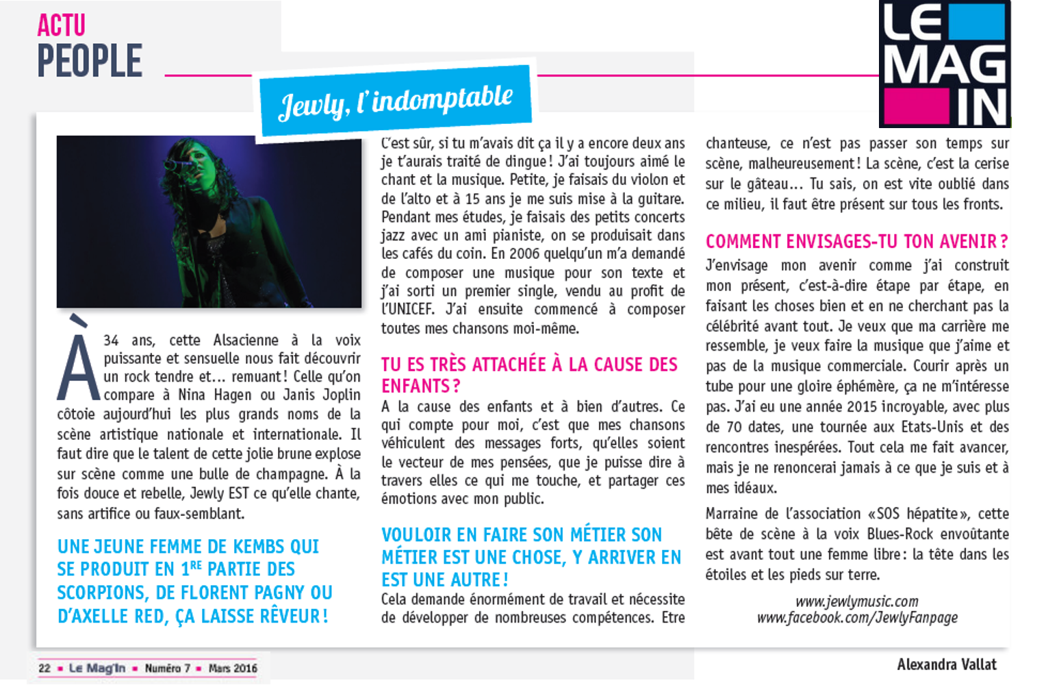 Le Mag'In – 03/2016