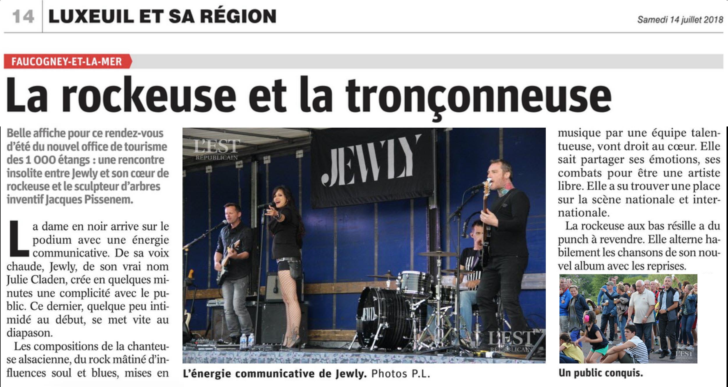L'Est Républicain - 14/07/18