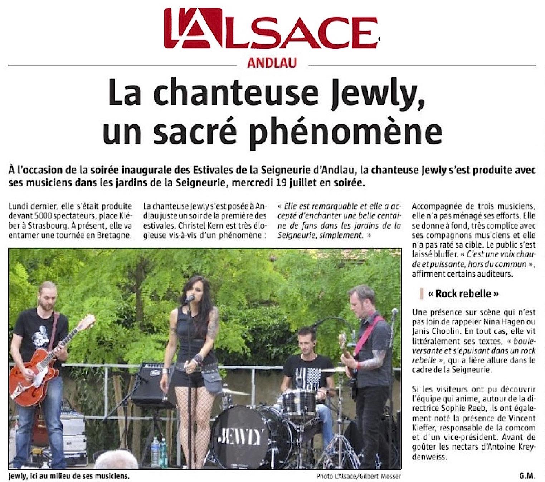 L'Alsace - 24/07/17