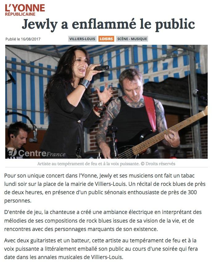 L'Yvonne Républicaine - 16/08/17