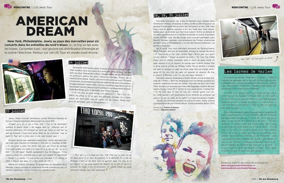 WAS Magazine – 4ème trimestre 2012
