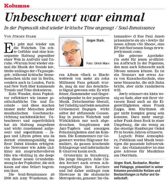 Mittelbadische Presse – 04/2011