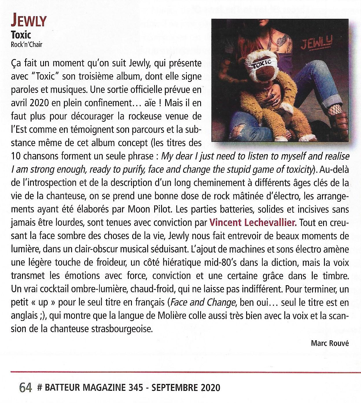Batteur Magazine - Septembre 2020
